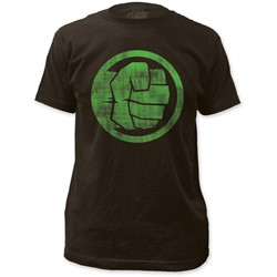 Marvel Comics - Mens The Incredible Hulk Fist Bump Fitted T-Shirt