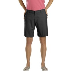 "Dickies - FR221 Women's 9"" Flat Front Short"