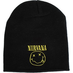 Nirvana - Smile Beanie in Black