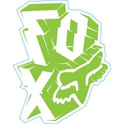 Fox - Mens Outta Whack Sticker