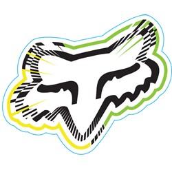 Fox - Mens Spiked Sticker
