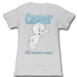 Cartoons - Womens Casper T-Shirt