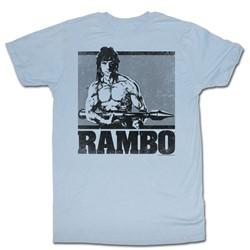 Rambo - Mens First Blood Ii T-Shirt