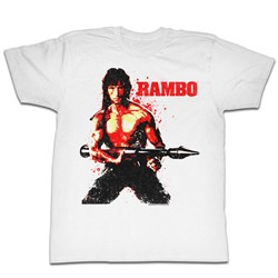 Rambo - Mens Red Rambo T-Shirt