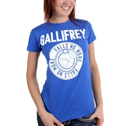 Dr. Who - Womens Gallifrey Falls No More T-Shirt