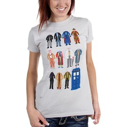 Dr. Who - Womens Outfits T-Shirt