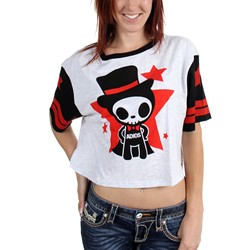 Tokidoki - Womens Adios Star Crop Top
