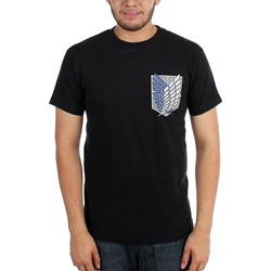 Attack on Titan - Mens Survey Corps T-Shirt