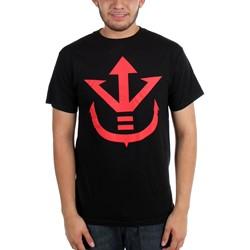 Dragon Ball Z - Mens Saiyan Royal Family Symbol T-Shirt