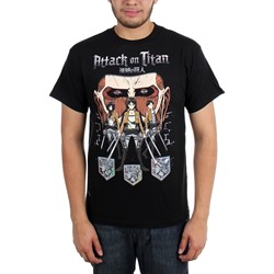 Attack on Titan - Mens Titan In Shadows T-Shirt