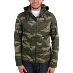 G-Star Raw - Mens Troupman Hooded Longsleeve Overshirt Jacket