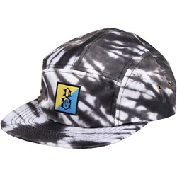 Rebel8 - Flip Black Tie-Dye Camper Hat