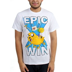 Adventure Time - Mens  Epic Win  T-Shirt
