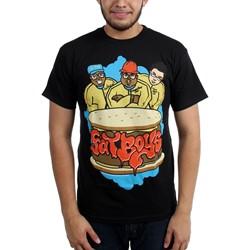 Fat Boys - Mens Burger T-Shirt