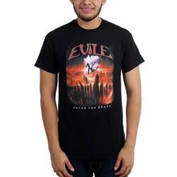 Evile  - Mens Enter The Grave T-Shirt