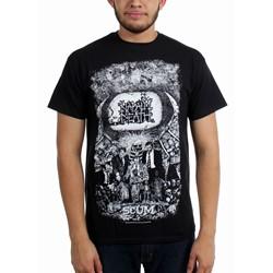 Napalm Death - Mens Scum Vintage T-Shirt