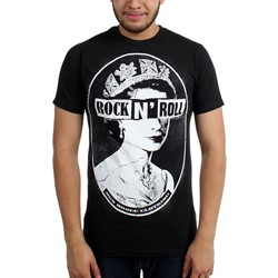 Ben Bruce Clothing - Mens Save The Queen Slim Fit T-Shirt