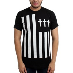 Crosses - Mens Cross Flag Slim Fit T-Shirt