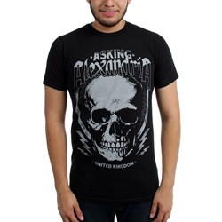 Asking Alexandria - Mens Skull Jack Slim Fit T-Shirt