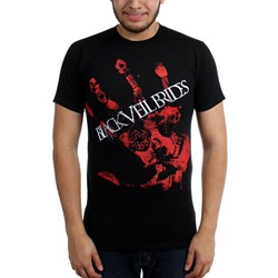Black Veil Brides - Mens Red Handed Slim Fit T-Shirt