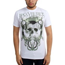 Black Veil Brides - Mens Skull Net Slim Fit T-Shirt
