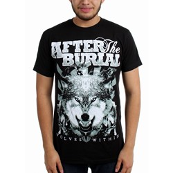 After the Burial - Mens Wolf Pack Slim Fit T-Shirt