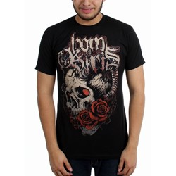 Born of Osiris - Mens Roses Slim Fit T-Shirt