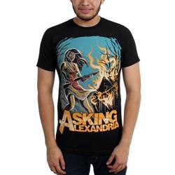Asking Alexandria - Mens Am I Insane Slim Fit T-Shirt