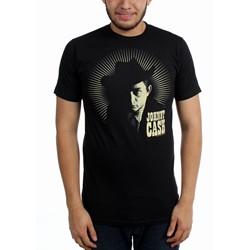 Johnny Cash - Mens Johnny Cash Sunburst Slim Fit T-Shirt