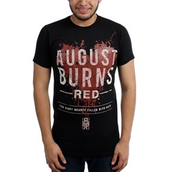 August Burns Red - Mens Hearts Filled Slim Fit T-Shirt