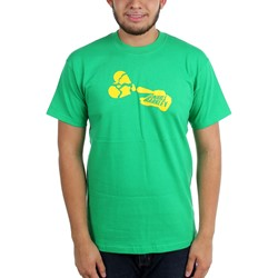 Gnarls Barkley - Mens Lovetank on Green T-Shirt
