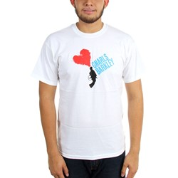 Gnarls Barkley - Mens Black Lovegun T-Shirt