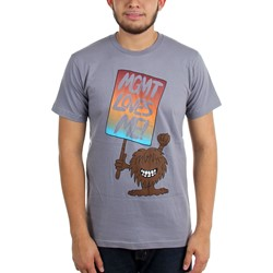 MGMT - Mens Fuzzy Love T-Shirt