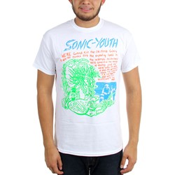 Sonic Youth - Mens Savage T-Shirt
