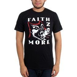 Faith No More - Mens Logo Dog T-Shirt