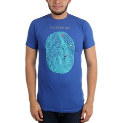 Washed Out - Mens Blue Egg T-Shirt