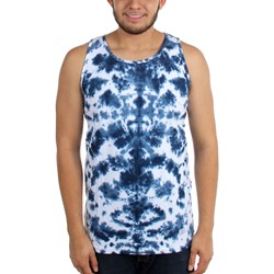 Akomplice - Mens Blue Dialation Tank Top