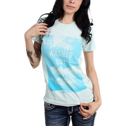 Washed Out - Womens Clouds T-Shirt