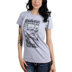 Panda Bear - Womens Tomboy T-Shirt