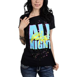 Girl Talk - Womens All Night T-Shirt