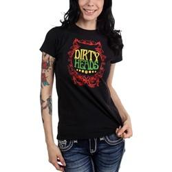 Dirty Heads - Womens Rasta Border T-Shirt