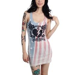 Affliction - Womens American Heartbreaker Dress