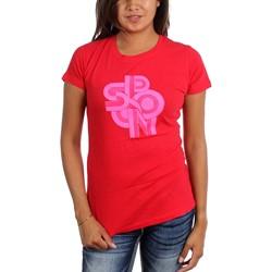 Spoon - Womens Red Logo T-Shirt