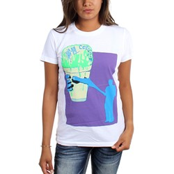 Animal Collective - Womens White Snowcone T-Shirt