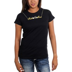 Faith No More - Womens Gold Chain T-Shirt