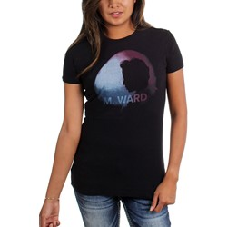 M. Ward - Womens Wasteland Moon Photo T-Shirt