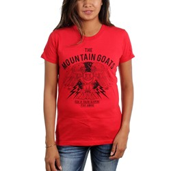 The Mountain Goats - Womens Owl T-Shirt