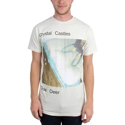 Crystal Castles - Mens Doe Deer T-Shirt