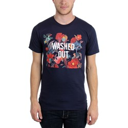 Washed Out - Mens Paracosm Navy T-Shirt