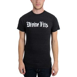 Divine Fits - Mens White Logo T-Shirt